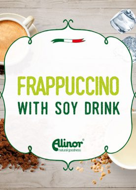 Frappuccino with soy drink